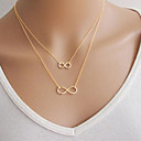 Buy Necklace Pendant Necklaces / Chain Jewelry Party Daily Casual Fashion Alloy Silver 1pc Gift