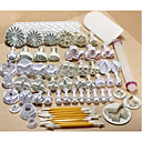 Buy 6Fondant Cake Mould Fondant Tools 21Set Decorating Carved Pen Smoother Polisher Baking Mold