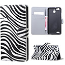 Buy Zebra Stripes Magnetic PU Leather wallet Flip Stand Case cover Huawei Ascend P9