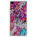 Buy Huawei Case / P9 Lite P8 Transparent Back Cover Flower Soft TPU HuaweiHuawei