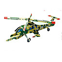 Buy Jigsaw Puzzles 3D Building Blocks DIY Toys Aircraft Paper Red / Green Blue Yellow Model & Toy