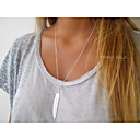 Buy Necklace Pendant Necklaces Jewelry Party / Daily Casual Fashion Alloy Gold Silver 1pc Gift