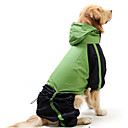 Cat / Dog Rain Coat / Clothes/Clothing Red / Blue Spring/Fall Classic / Sport Waterproof
