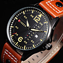 Buy CURREN® Mens Watches Relogio Sports Time Module Quartz Luminous Hands Date Day Watch Military Army Leather Wrist Cool Unique