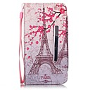Buy Huawei Case Wallet / Card Holder Stand Full Body Eiffel Tower Hard PU Leather Y6/Honor 4A