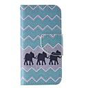 Buy Elephant Painted PU Phone Case iphone5SE