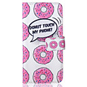 Buy Donuts Pattern PU Leather Material Phone Case iPhone 6/6S/6Plus/6sPlus