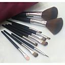 10Conjuntos de pincel / Pincel para Blush / Pincel para Sombra / Pincel para Lábios / Pincel de Sombrancelha / Pincel de Delineador de