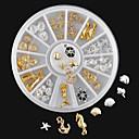 1PC-6*6*1-Πανκ-Κοσμήματα Νυχιών- γιαΔάχτυλο / Άλλα- απόΆλλα