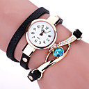 Buy Duoya Brand New Women Bracelet Leather Strap Crystal Watch Long Chain Wristwatches Jewelry Montres femme Gift idea Cool Watches Unique