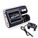 i1000 HD 720P Dual Lens Camcorder Car DVR Dash Cam Black Box With Rear View Camera