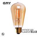 1 pieza GMY E26/E27 3W 4 COB ≥330 lm Blanco Cálido ST58 edison Cosecha Bombillas de Filamento LED AC 100-240 V