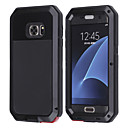 LOGROTATE®Aluminum Waterproof Shockproof Gorilla Glass Case for Samsung Galaxy S7(Assorted Color)