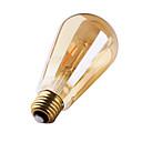 1 pcs GMY E27 2W 2 COB ≥180 lm Warm White ST64 edison Vintage LED Filament Bulbs AC 220-240 V 2200K