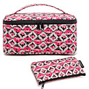 Buy Portable Rose Quadrate&Briefcase Shaped Thicken Make up/Cosmetics Bag Set Cosmetics Storage