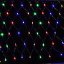 Buy Led Net Light 1.5X1.5M 96Led Lights String Wedding Party Holiday Decoration Xmas Eu Plug Ac220V Ac110V