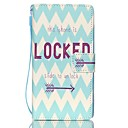 Buy EFORCASE® Unlock Painted Lanyard PU Phone Case Huawei P8lite