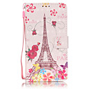 Buy PU Leather Material 3D Painting Butterfly Tower Pattern Phone Case Samsung Galaxy J5/J510/J3/J310/G360/G530