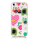 Buy TPU Material + IMD Technology Owl Love Pattern Painted Relief Phone Case iPhone 6s Plus / 6 Plus/SE 5s 5/5C