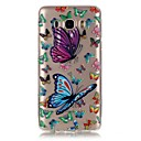 Buy Pink Butterfly 3D Relief Feeling Super Soft Pack Transparent TPU Phone Case Samsung Galaxy J110/J510/J710/J3