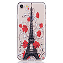 Buy TPU Material Eiffel Tower Pattern Painted Relief Phone Case iPhone 7 Plus/7/6s Plus / 6 Plus/6S/6/SE 5s 5