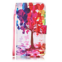 Buy Color Tree Pattern PU Leather Lanyard phone Case Apple iPhone 7 Plus 6 plus 5