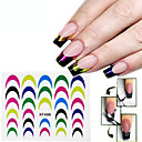 Buy Decals French Nail Stickers Manicure Tips Guide Nails Decoration Form Finger Guides
