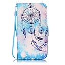 Buy Blue Dream Catcher Painted PU Leather Material Card Holder Phone Case iPhone 7 7plus 6S 6plus SE 5S