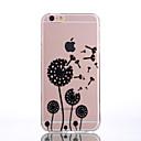 Buy TPU Material Dandelion Black Pattern Soft Shell Phone iPhone 7 Plus/7/6s Plus / 6 Plus/6S/6/SE 5s/5/5C