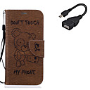 Buy Samsung Galaxy A5(2016) A3(2016) Card Holder Wallet Stand Flip Pattern Case Full Body Cover Animal Hard PU Leather USB Cable
