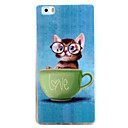 Buy HUAWEI P9 P8Lite Y5C Y6 Y625 Y635 5X 4X G8 Case Cover Cat Pattern TPU Material Phone Shell
