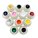 Buy Brand New Painting Gel DIY Nail Art Colors 3D Paint Color UV&LED Lamp Draw Acrylic UV Tip Polish