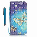 Buy Samsung Galaxy A5 (2016) A3 Case Cover Stylus Gold Butterfly 3D Painting PU Phone