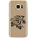 Buy Samsung Galaxy S7 Edge S6 Case Back Cover Flower Transparent Soft TPU Plus Active S5