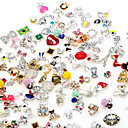 Buy 13D Alloy Nail Sticker Decorations DIY Charm Jewelry Accessories Random Color