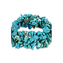 Buy Bracelet Chain Crystal Turquoise Others Unique Design Fashion Birthstones Birthday Gift Daily Jewelry Pool,1pc
