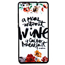 Buy Huawei P8 P9 P8Lite P9Lite Y5 II Honor5A Honor8 Mate7 Letter Pattern TPU Material Painted Relief Phone Case
