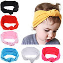 Buy 2016 Baby Girls Tie Knot Headband Knitted Cotton Children Elastic Hair Bands Turban Bows Girl Headbands Summer Style