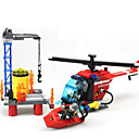 Buy Action Figures & Stuffed Animals / Building Blocks Gift Model Toy Machine Ship Helicopter ABS5 7