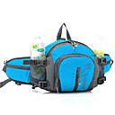 Buy 3 L Waist Bag/Waistpack Camping & Hiking Traveling Outdoor Multifunctional Yellow Nylon