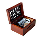 Buy Music Box Sweet / Special Creative Wood Brown Boys Girls