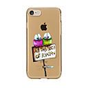 Buy Transparent Pattern Case Back Cover Cartoon Bird Soft TPU IPhone 7 7Plus iPhone 6s 6 Plus 5s 5 5E 5C