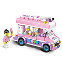 Buy Building Blocks Vehicle Toys Gift Model & Toy Car Plastic 5 7 Years 8 13 14 Pink