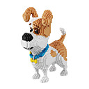 Buy Toys Gift Building Blocks Model & Toy Dog Movie Character Plastic 14 Years Ivory