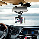 Buy Car Phone Holder INSOU 360 Degree Universal Adjustable Rear-view Mirror Mount Mobile Stands Smartphones