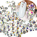 Buy 1Bag 400-50SS3-SS16 Mixed Size Nail AB Rhinestone New Art Glitter Sparkling Shiny Bling Decoration