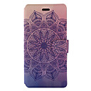 Buy Huawei P9 Lite P8 (2017) Case Cover Mandala Pattern Painted PU Material Card Holder Mobile Phone Holster Y5II Honor 5X