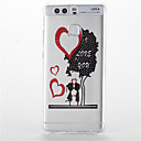 Buy Huawei P9/P9 Lite Shockproof Transparent Pattern Case Back Cover Cartoon Heart Soft TPU P8