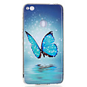 Buy Huawei P8 Lite(2017) P10 Case Cover Butterfly Pattern Luminous TPU Material IMD Process Soft Phone Lite P9