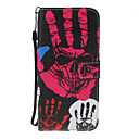 Buy Huawei P10 Lite P8 Lite(2017) Case Cover Card Holder Wallet Stand Flip Pattern Full Body Skull Hard PU Leather P9